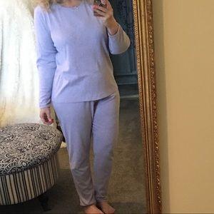 Cuddl Johns by Cuddl Duds Lavender Pajamas Sleep